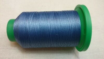 ISACORD 40 Sewing Thread 1000m Colour 4103 CALIFORNIA BLUE Machine Embroidery