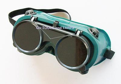 GOGGLES WELDING / CUTTING with FLIP UP LENS ** Free Shipping **