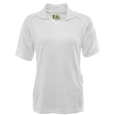 Ladies Lawn Bowls Bowling 100% Polyester Professional Sports Polo Shirt Blouse