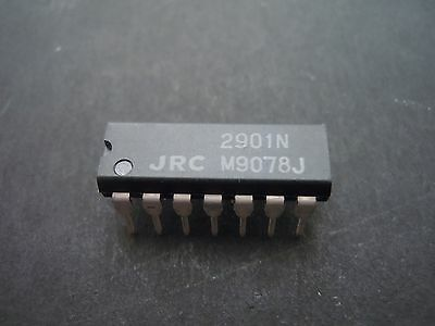 200Pcs NJM2901N QUAD COMPARATOR, 7000uV OFFSET-MAX,1300ns RESPONSE TIME