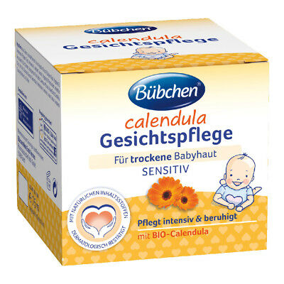 Bübchen Bubchen Baby Face Cream w/ Calendula 75 ml (2.5 fl oz) - Origin Germany