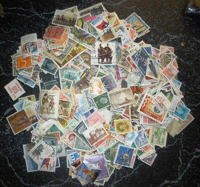 Assorted World Stamps - Bulk Lot of 500 CTO/Used Stamps