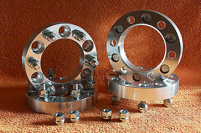 4 Distanziali Wheel Spacers 30 38 50mm NISSAN Patrol Terrano 2 Pathfinder NP300