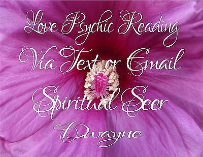 Love Psychic Reading Via Text or Email
