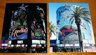 RIVIERA CASINO Vintage Las Vegas *2* 8X10 Photo Lot Closing May 2015
