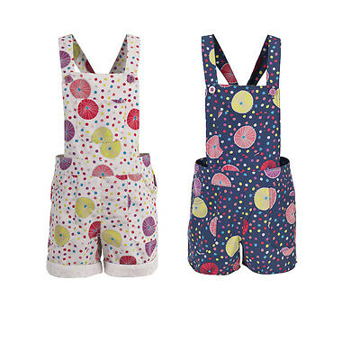 Trespass Joyous Kids Girls Summer Outdoor Dungarees