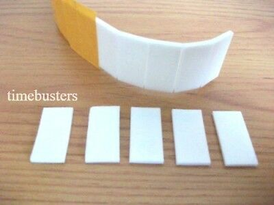 4000 Adhesive Double Sided White Foam Pads Sticky Fixers 3D Effect 25mm x 12mm