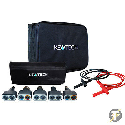 Kewtech Lightmate Light Testing KIT51, LDM203 Red Black Test Leads & TK1C Case