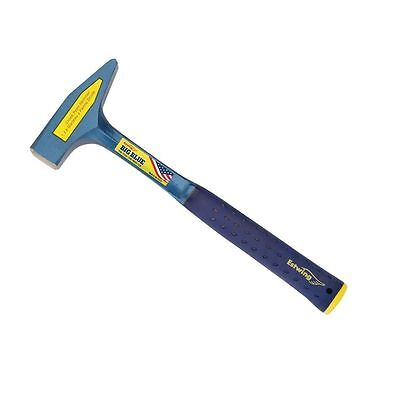 Estwing E6-40CP Solid Steel 40oz Cross Peen Hammer with Shock Reduction Grip