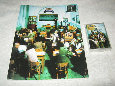 "Oasis ""The Masterplan"" Musicassetta + libro spartiti Album"
