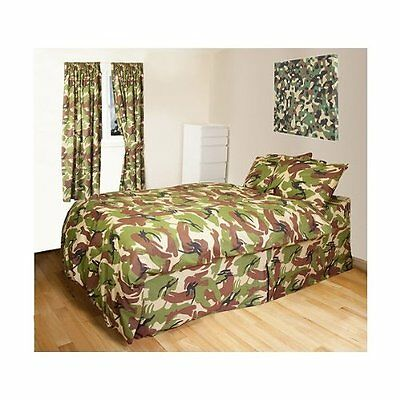 Kids Army Camouflage Single Bedding Set - Camo Duvet Cover