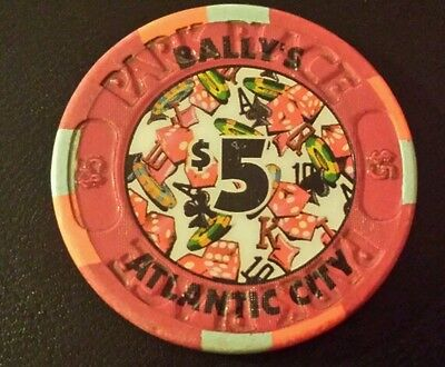 $5 Bally's Park Place Casino chip           ~Atlantic City ~