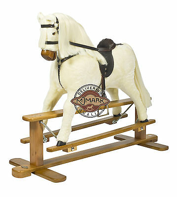 Beautifully handmade rocking horse MARS V from MJMARK MJMARK