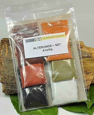 (FA01) AGING, WEATHERING powder paints for Goods wagon in N Gauge