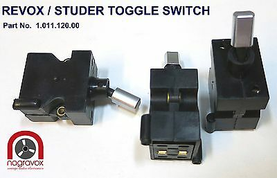 Revox Studer Toggle Switch B77, PR99, A710, B710 original new
