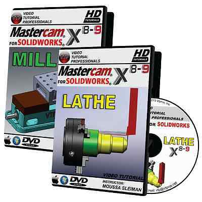 Mastercam X6 Lathe Training Tutorial
