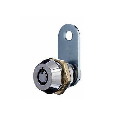 BDS Tubular Cam Lock RL55012KD 12mm High Security Keyed To Differ