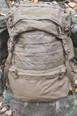 Very Good USMC FILBE Main Pack Only Ruck Sack Duffel ILBE Replace Coyote Brown