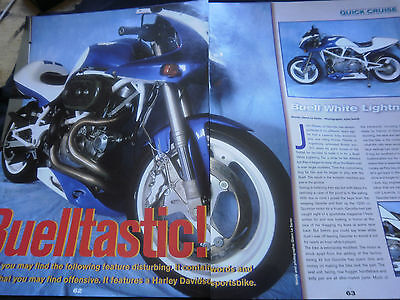 Buell White Lightning - 3 Page Article
