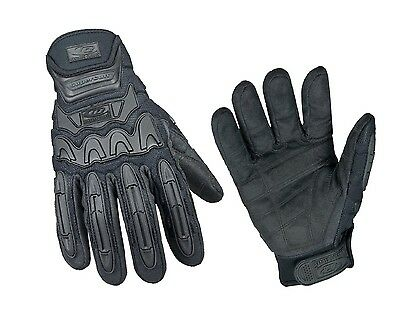 Ringers Gloves Tactical Heavy Duty Gloves Cut Resistant Black Size Large 577-10