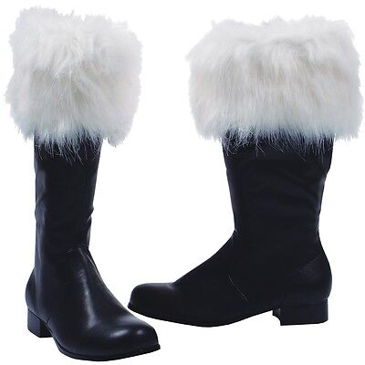 Nick Santa Claus Boots Costume Shoes Adult Christmas