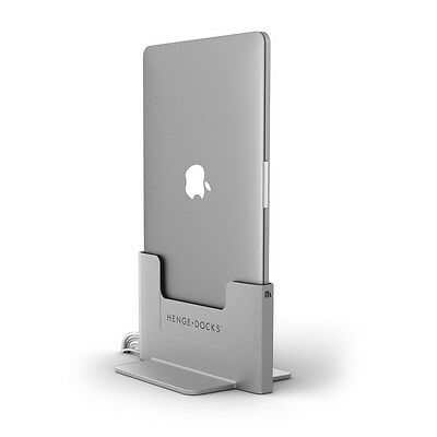 Henge Docks Vertical Metal Docking WorkStation for MacBook Pro 13 Retina Display