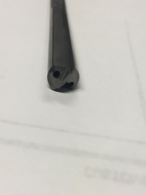 "Starcut 1.1090 x 22/"" OAL Carbide Tipped 2 Flute Gun Drill"