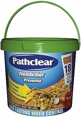 Pathclear Weedkiller Preventer 18 Tube Concentrate Long Lasting 360m²