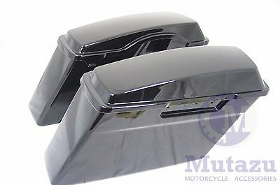 Touring Hard Saddle bags Saddlebags for Harley Road King Glide Softail DYNA