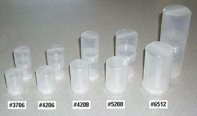 """#5208-2 - Two Eyepiece Cases -2.0"""" (52mm) ID, 3.2"""" to 4.7"""" Long - Bolt Style"""