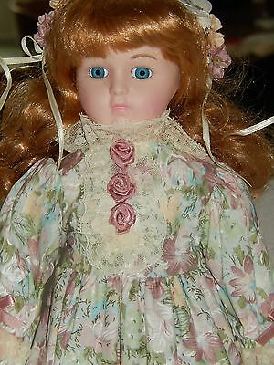 House of Lloyd Brooke Ceramic Doll with butterfly net