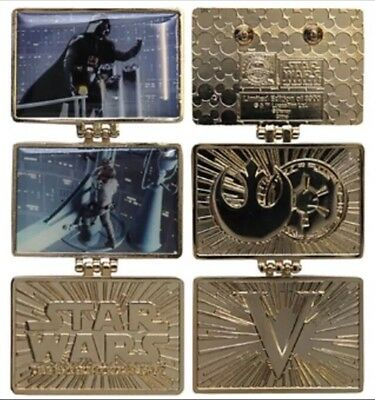 Disney Star Wars Weekends 2015 Empire Strikes Back V Trading Pin LE 3900