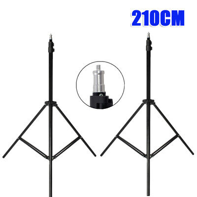 2x Photo Photography Studio Video  Lighting Light Stand Support Bracket Kit Set