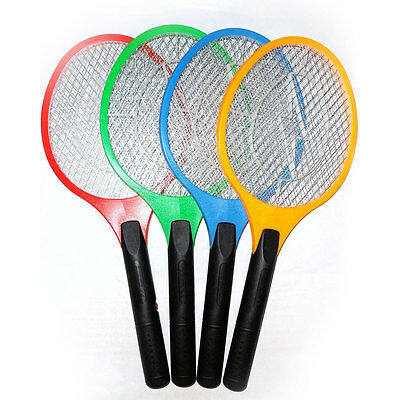 Rechargeable Electric Bug Bat Gnats Pest Bees Protect Mosquito Swatter Racket