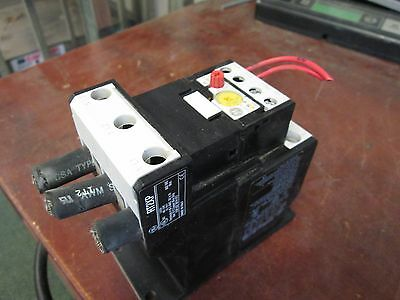 GE Solid State Overload Relay RT22M Range: 90 - 110A w/ Base Adapter RT2XP Used
