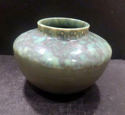 Roseville Imperial II Green And Purple Mottled Glaze Vase - 200 - MINT (A)