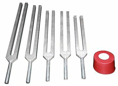 5 Tuning Forks for Brain Relaxation Energy Stimulation HLS EHS