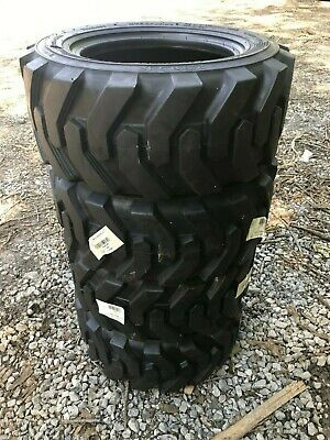 4-23X8.5-12 Skid Steer Tires-23X8.50-12-Solideal Xtra wall-for Bobcat and others