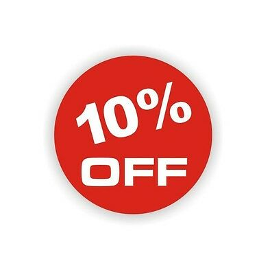 Self Adhesive Sale Sign Label Pack Of 100