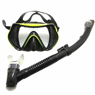Professional Scuba Freediving / Diving Mask Dry Snorkeling Set For Adult