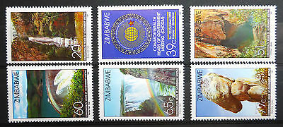 Zimbabwe 1991 Heads Of Government Sg816-21 U/m New Lower Price Fp2976