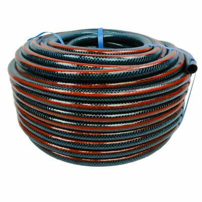 "50M Hose Factory Flex 12MM Garden Water Hose 1/2"" Australian Made 8/10 Kink Free"