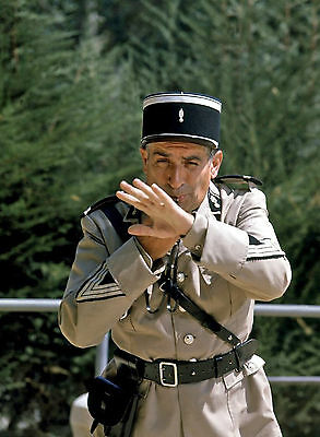 Photo Gendarme De Saint-Tropez - Louis De Funes  /11X15 Cm #1