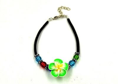 New wholesale FIMO polymer clay Assorted Flower Bracelet Gift Award for Children