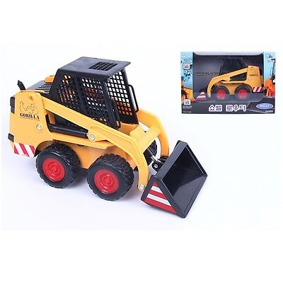 WELLY Shovel loaders Die-cast Metal Miniature Pull Back & Go Action