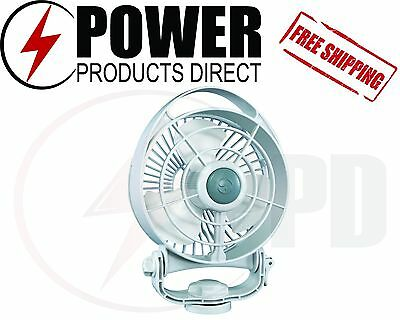 Caframo 748 Bora 12V White Fan - Free Same Day Shipping