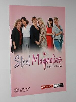 Richmond Theatre Programme Steel Magnolias Robert Harling 2012.