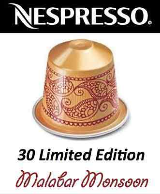 The Legendary Monsoon Malabar Limited Edition Nespresso Coffee *30 Capsules*Rare