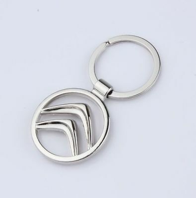New Citroen Car Logo Metal Alloy key Chain Creative Gift keyring