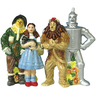 New Westland Giftware WIZARD OF OZ FOUR FRIENDS Salt & Pepper Shakers